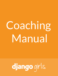 Coaching Guide Django Girls
