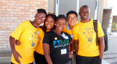 Organizers of Django Girls Windhoek
